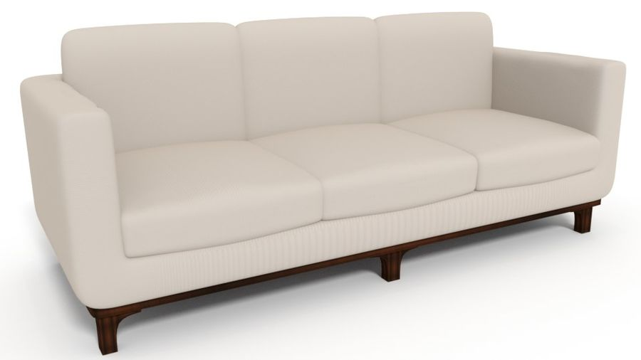 Sofa Holly Hunt Guild royalty-free 3d model - Preview no. 1