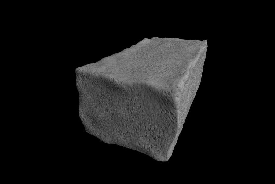 La pierre royalty-free 3d model - Preview no. 1