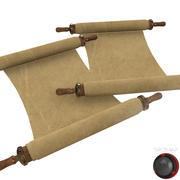 Old Scroll 3d model