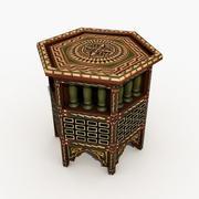 Arabiska tabellen 3d model