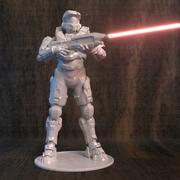 Halo för 3D-skrivare 3d model