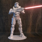 Halo for 3d printer 3d model