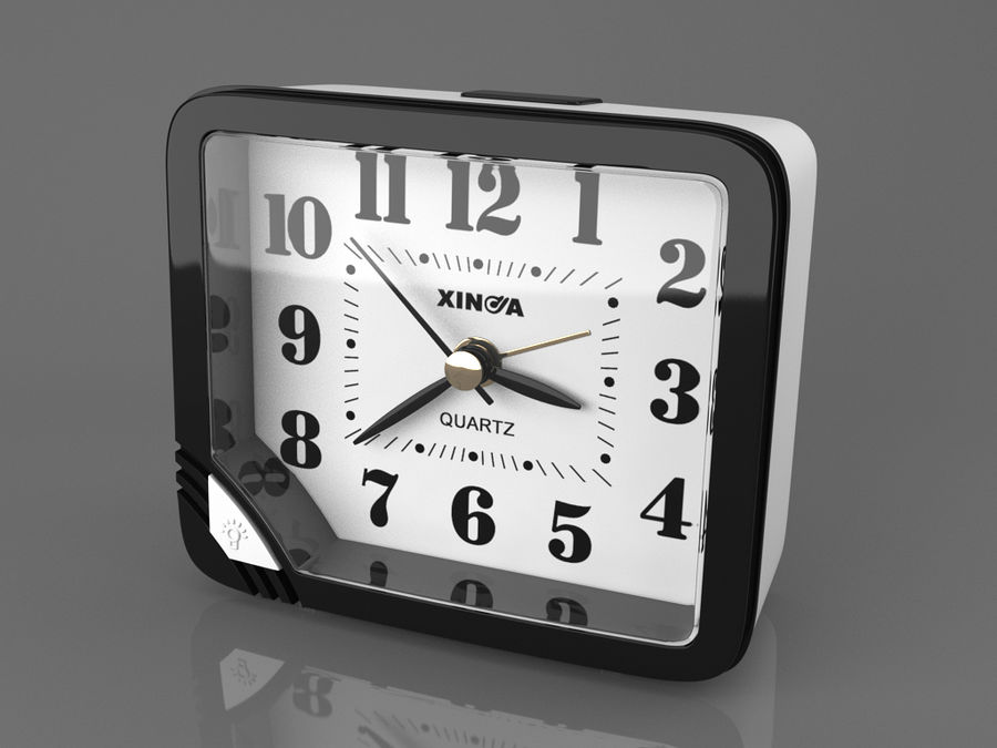 Reloj de mesa royalty-free modelo 3d - Preview no. 1