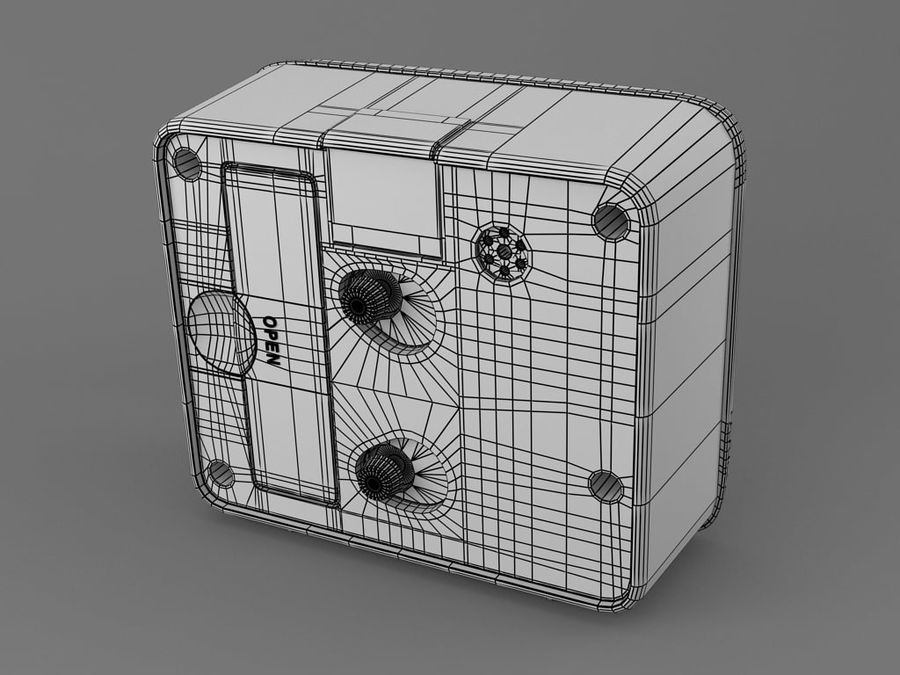 Reloj de mesa royalty-free modelo 3d - Preview no. 5