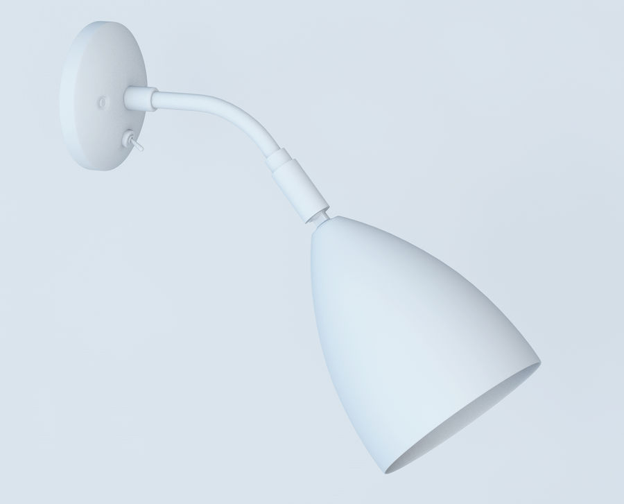 Astro Joel Wall Light royalty-free 3d model - Preview no. 9