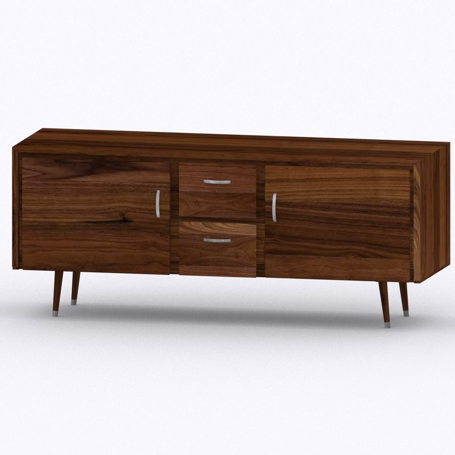 buffet royalty-free 3d model - Preview no. 2