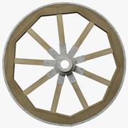 수레 바퀴 3d model