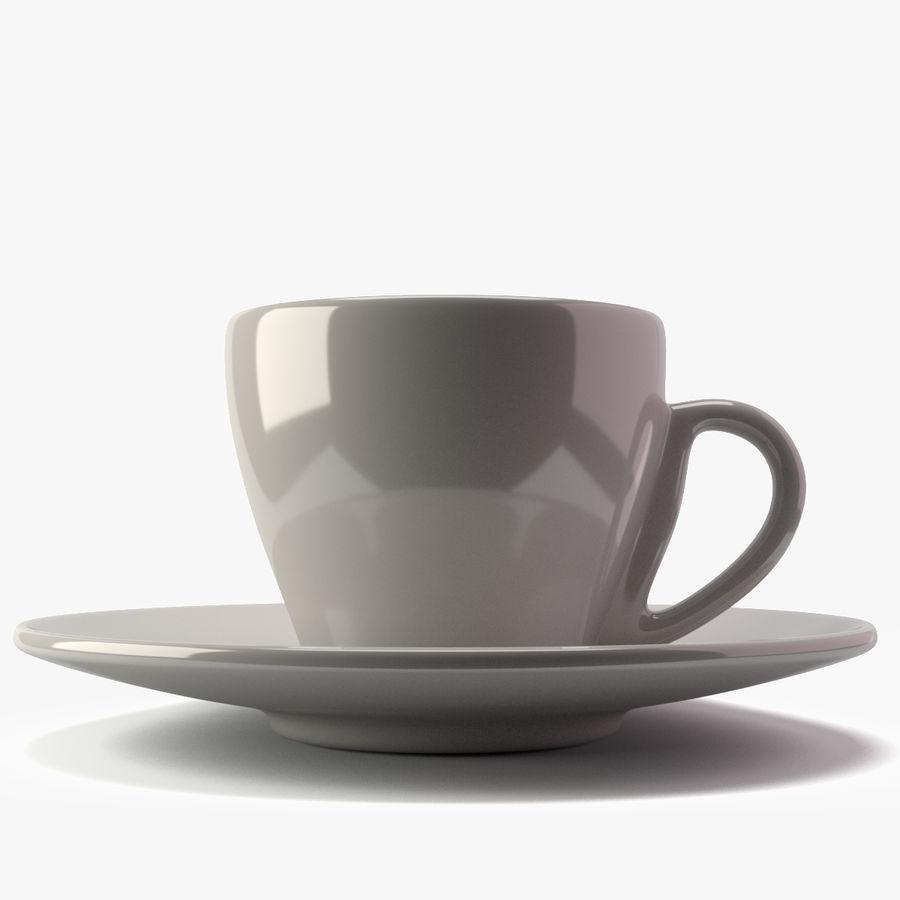 Espresso Cup royalty-free 3d model - Preview no. 4