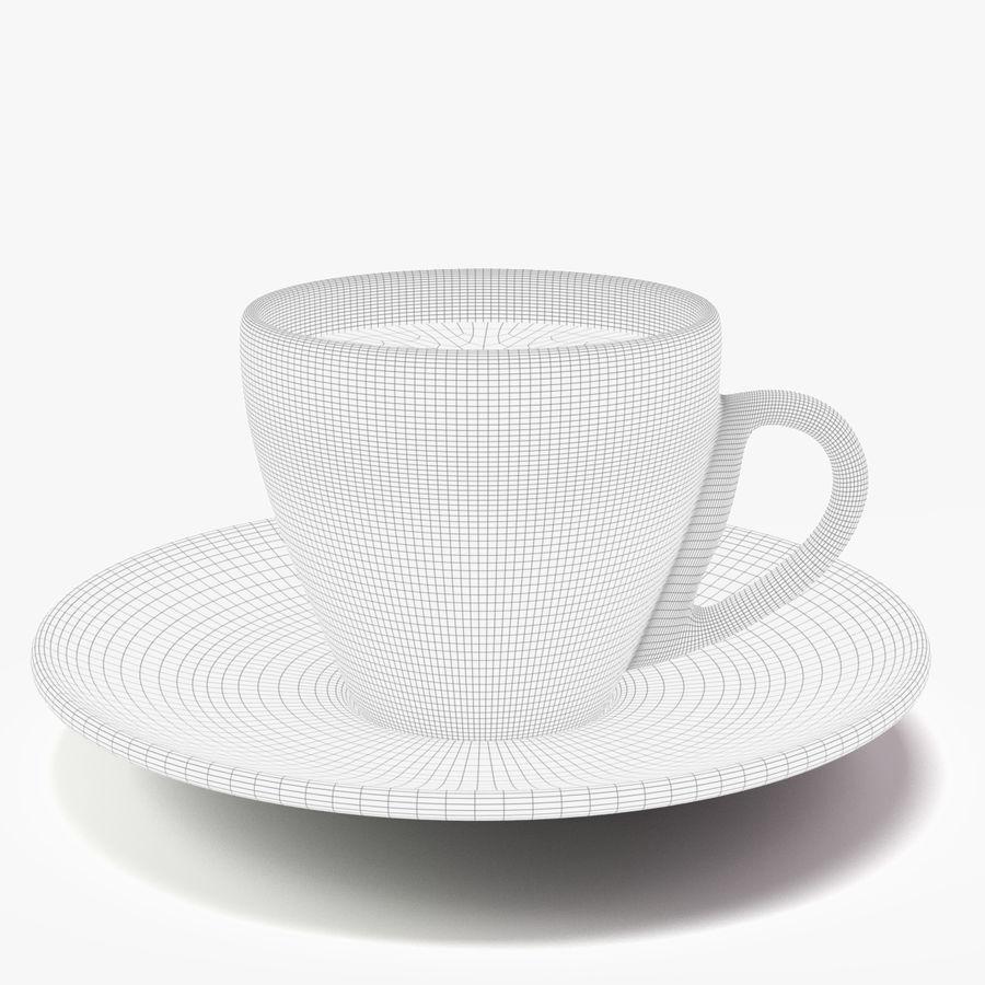 Espresso Cup royalty-free 3d model - Preview no. 6