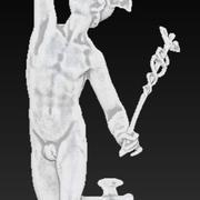 Mercury Hermes Statue 3d model
