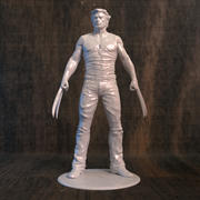 Wolverine Movie for 3D printer 3d model