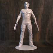 Wolverine Movie pour imprimante 3D 3d model