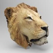 Głowa lwa 3d model