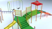 子供公園 3d model