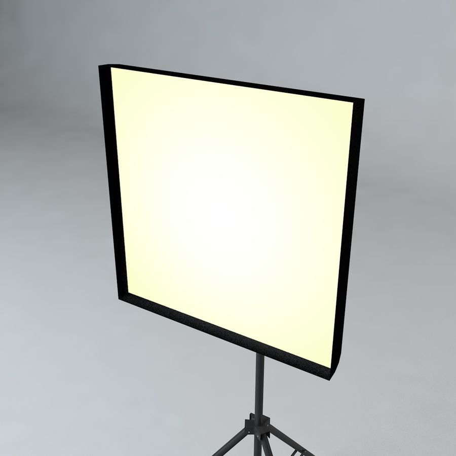 Production Light with Stand royalty-free 3d model - Preview no. 10