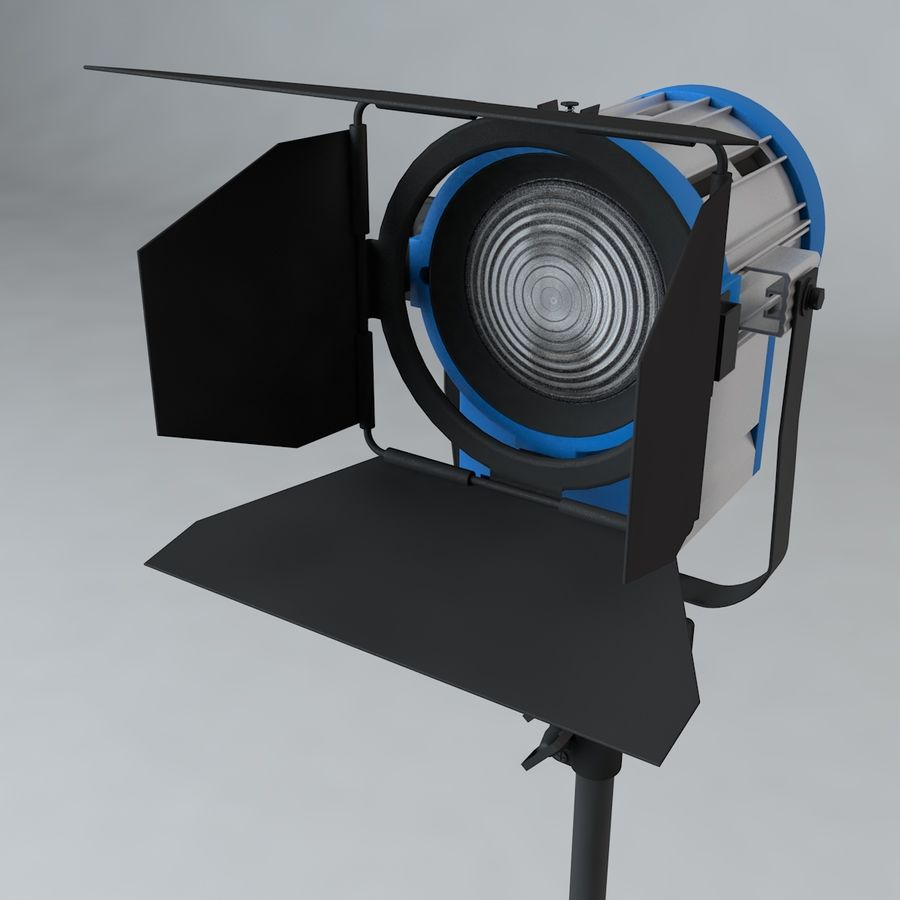 Production Light with Stand royalty-free 3d model - Preview no. 4