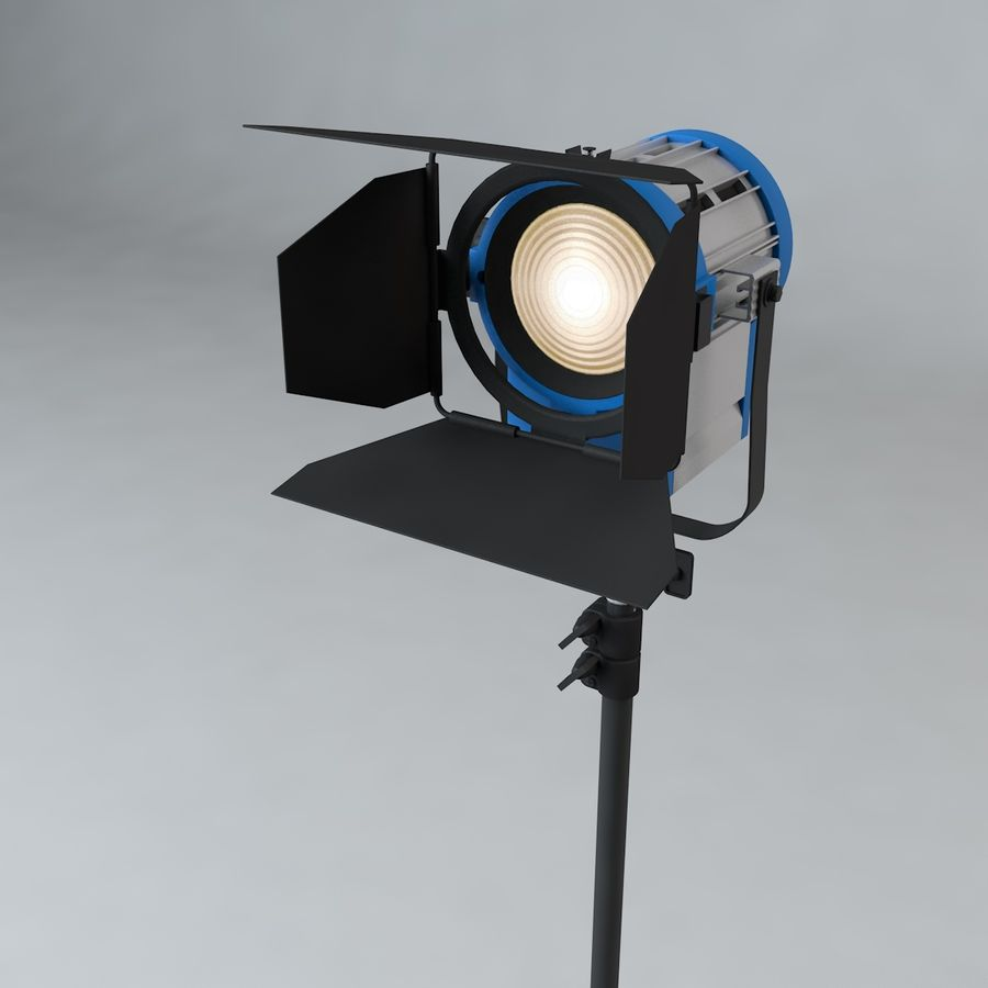 Production Light with Stand royalty-free 3d model - Preview no. 1