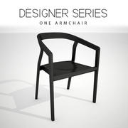 One Armchair 3d model