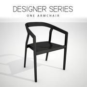 Un fauteuil 3d model