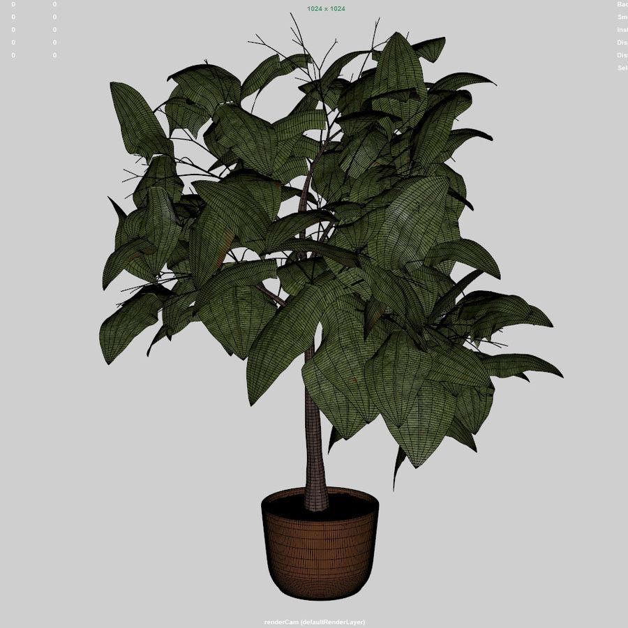 Planta da casa royalty-free 3d model - Preview no. 6