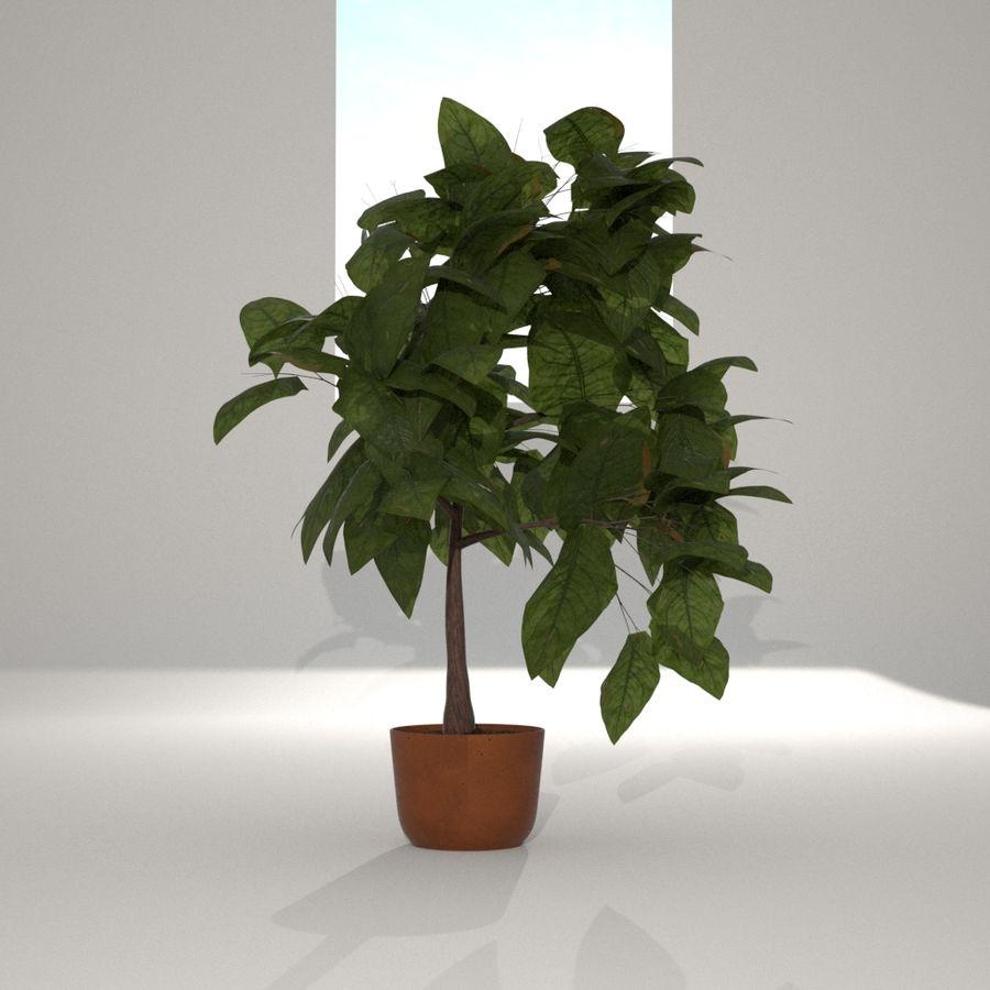 Planta da casa royalty-free 3d model - Preview no. 2