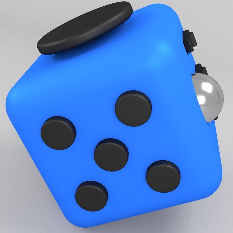 Fidget Cube royalty-free modelo 3d - Preview no. 6