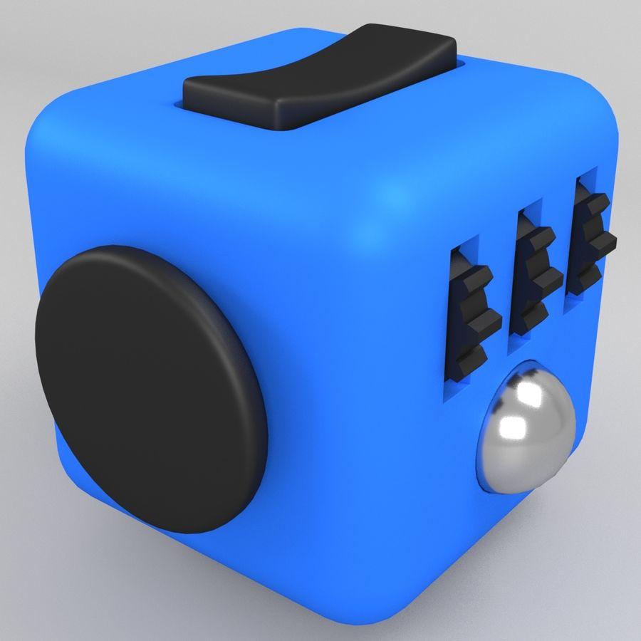 Fidget Cube royalty-free modelo 3d - Preview no. 5