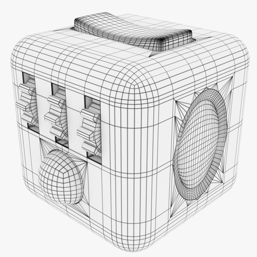 Fidget Cube royalty-free modelo 3d - Preview no. 9