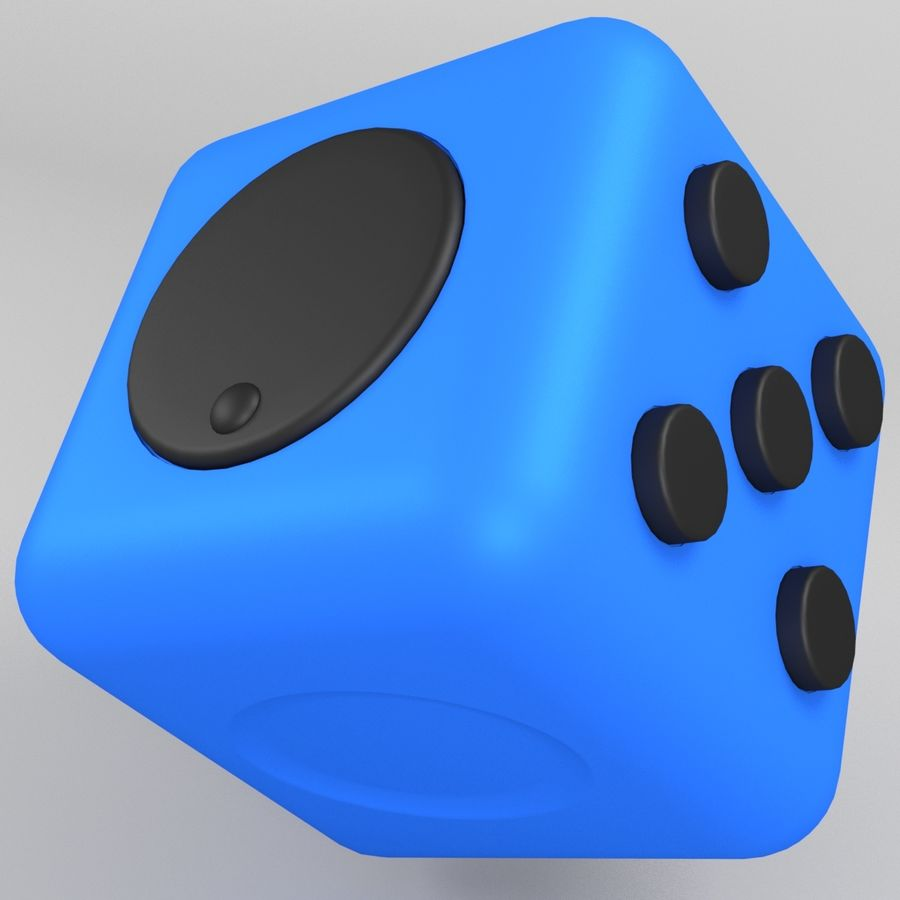 Fidget Cube royalty-free modelo 3d - Preview no. 7