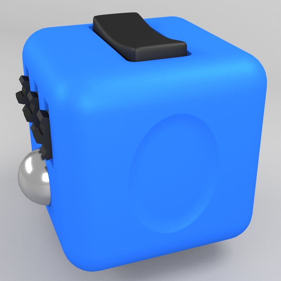 Fidget Cube royalty-free modelo 3d - Preview no. 2