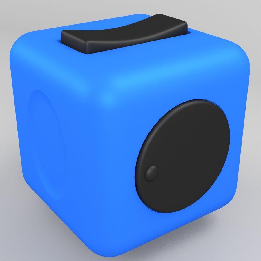 Fidget Cube royalty-free modelo 3d - Preview no. 3