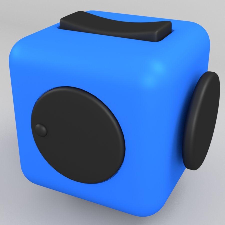 Fidget Cube royalty-free modelo 3d - Preview no. 4