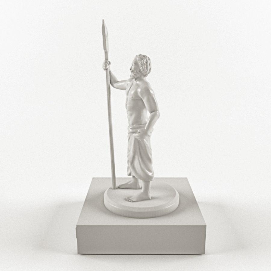 Deus - Poseidon royalty-free 3d model - Preview no. 2