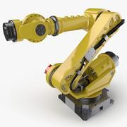 산업용 로봇 4 3d model