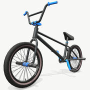 Bicicleta BMX 3d model