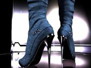 sexy female shoes 3d model