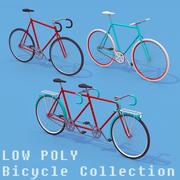 자전거 수집 3d model