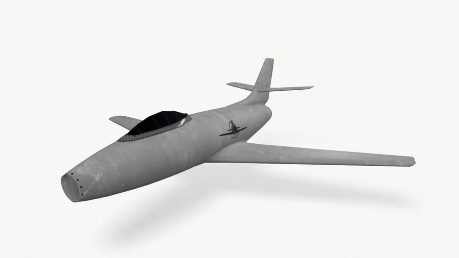 제트 전투기 항공기-저 폴리 PBR royalty-free 3d model - Preview no. 10