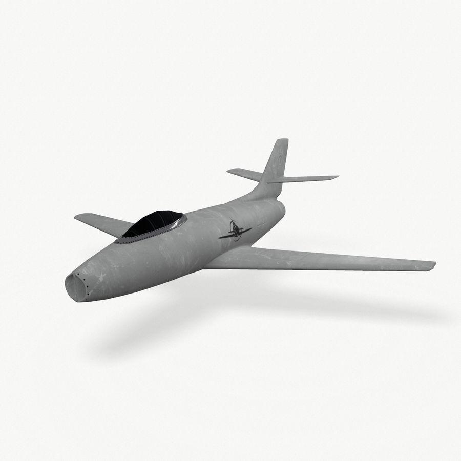 제트 전투기 항공기-저 폴리 PBR royalty-free 3d model - Preview no. 1