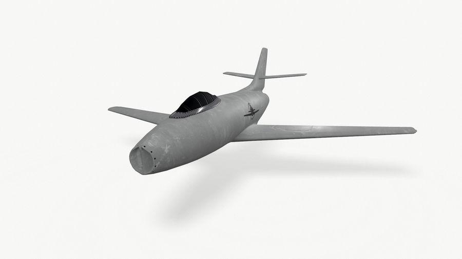 제트 전투기 항공기-저 폴리 PBR royalty-free 3d model - Preview no. 2