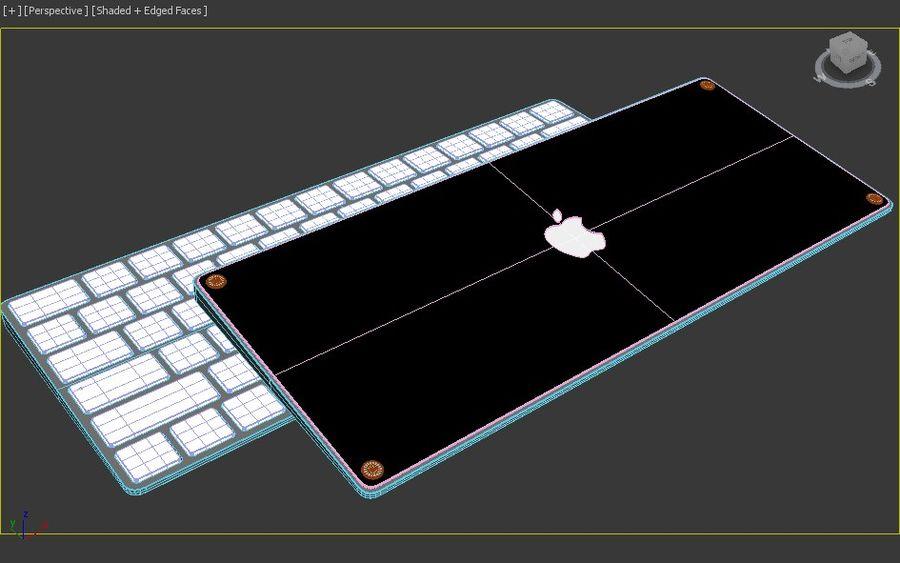 새로운 Apple Magic Keyboard 2 royalty-free 3d model - Preview no. 3