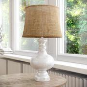 lâmpada de cabeceira celeiro de cerâmica 3d model