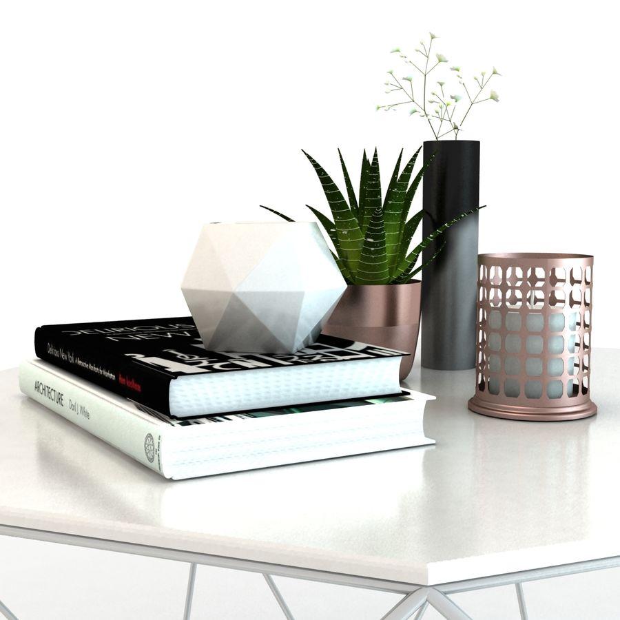 stolik do kawy royalty-free 3d model - Preview no. 6