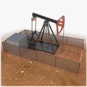 Beam Pumping Unit 3d model