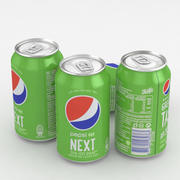 Canette de boisson Pepsi Next 330ml 3d model