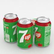 Напиток Баночный 7up вишня 330мл 3d model