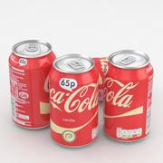 Beverage Can Coca-Cola Vanilla 330ml 3d model