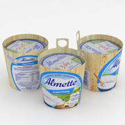 Yogurt Almette 150g 3d model