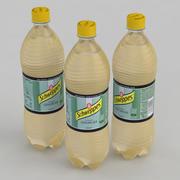 飲料ボトルシュウェップスジンジャーエール1L 3d model