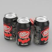 Napój puszka Dr Pepper Cherry 330ml 3d model